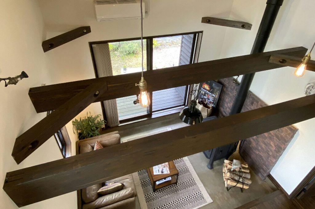 2階建のloafeaの内観