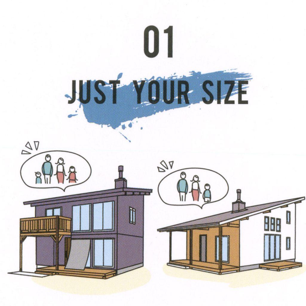 twofloor2階建のメリットの説明